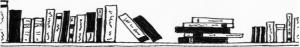 Druckstelle, druckstelle-blog, Bücher, Bücherregal, Buch