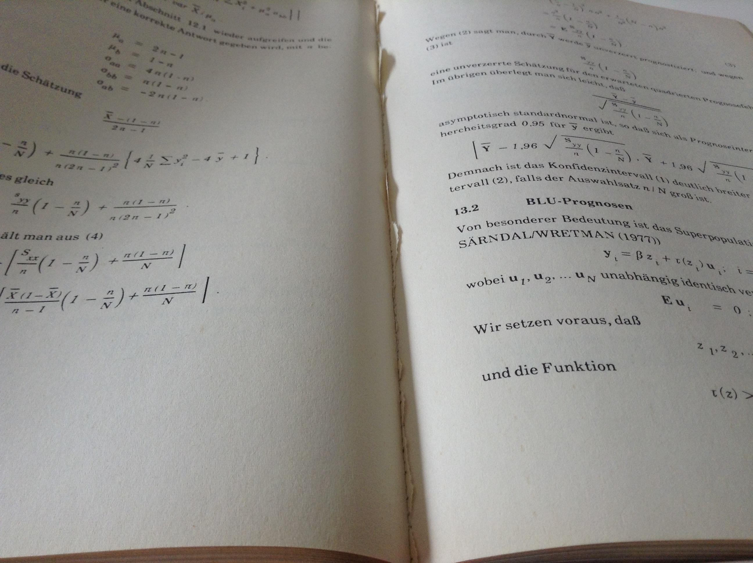 Das Opfer - ein altes Lehrbuch