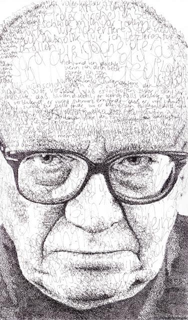 Ernst Jandl - geschrieben porträtiert