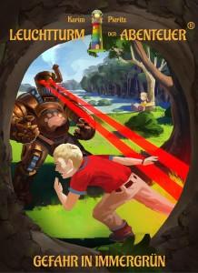 Cover Kinderbuch - Kinderbuch-Reihe Leuchtturm der Abenteuer